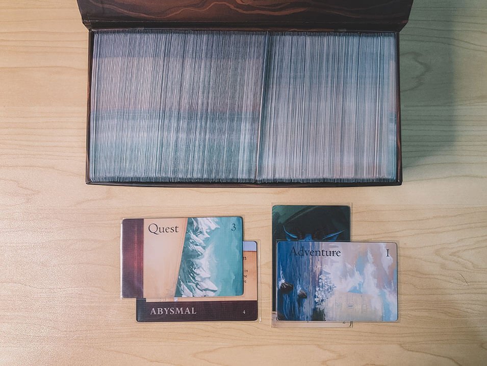 Quest and adventure cards in Sleeping Gods can show you the way and help you too.