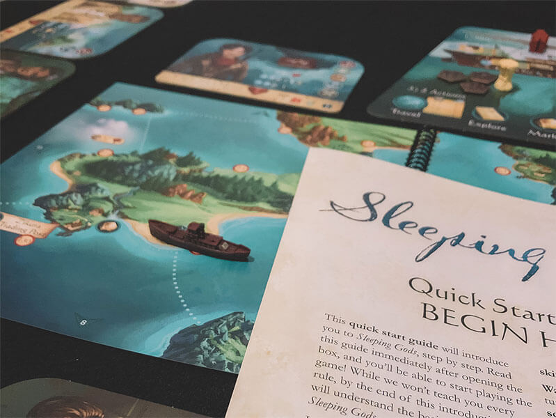 The Quick Start booklet is a fun, interesting way to ease into the game as a new player