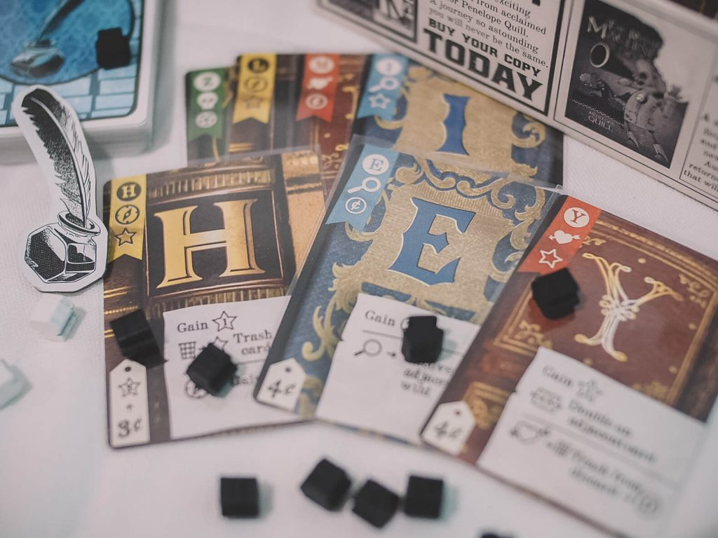 Hardback is a modern take on Scrabble and is a great throwback board game for seniors (Photo by Angela)